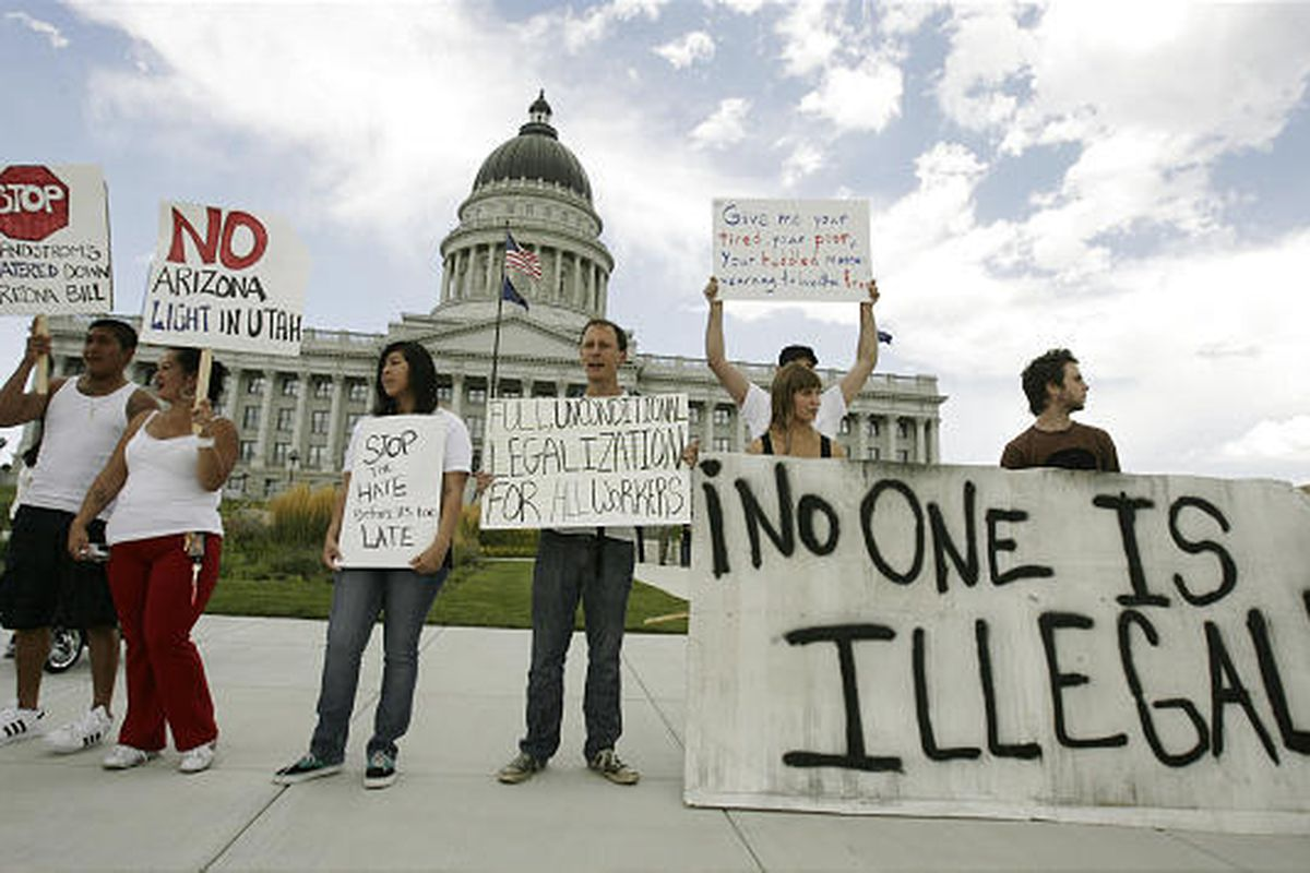 The day after a federal judge struck down portions of the 2011 Utah's Illegal Immigration Enforcement Act, some Utah leaders want Utah Legislature to repeal HB497 while others contemplate the states' continuing role in the issue of immigration.