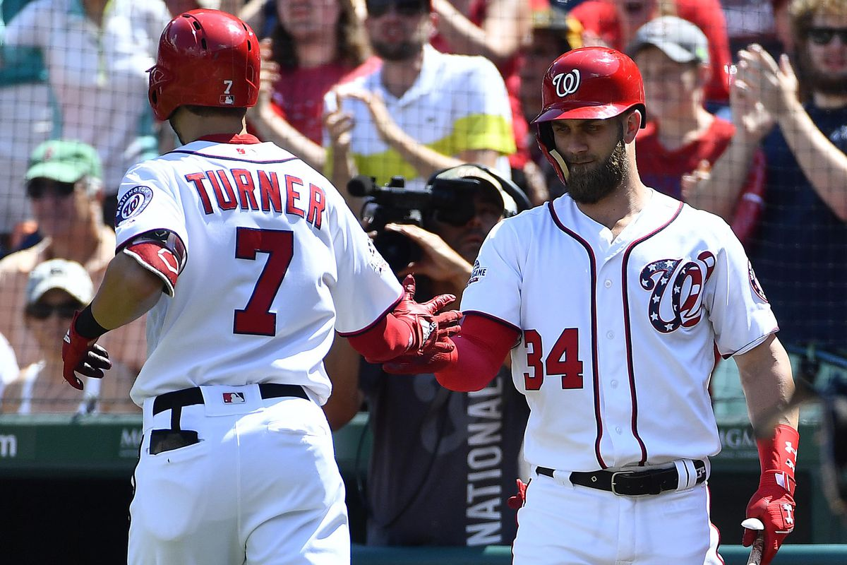 washington nationals walk off on st louis cardinals on sac fly by bryce harper in 10th. Black Bedroom Furniture Sets. Home Design Ideas