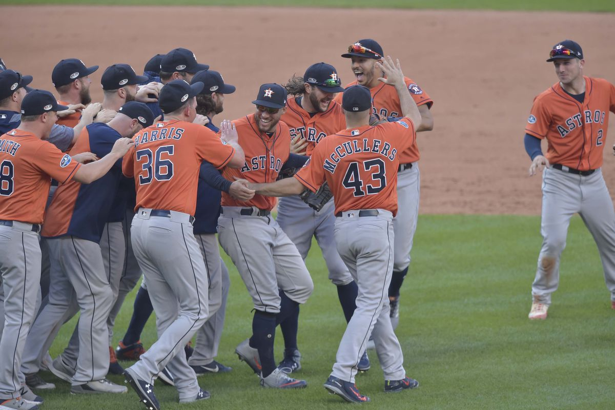 Astros Open Forum: The Starting Nine Predicts the ALCS  - The