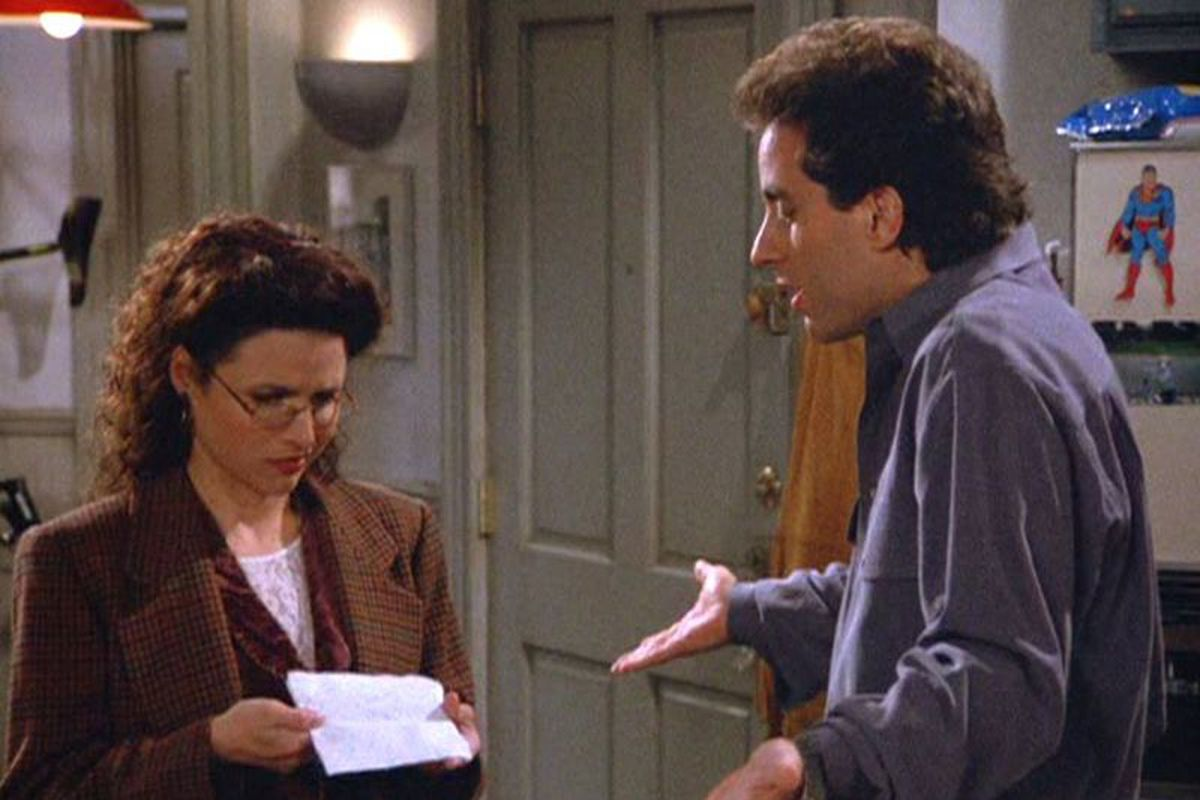 Seinfeld screengrab (Credit: Seinfeld/Sony Pictures/Facebook)
