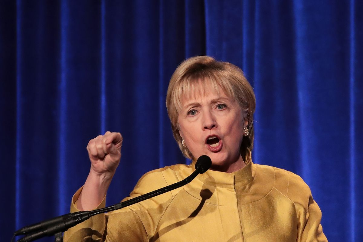 Hillary Clinton Receives Trailblazer Award From LGBT Center In NYC