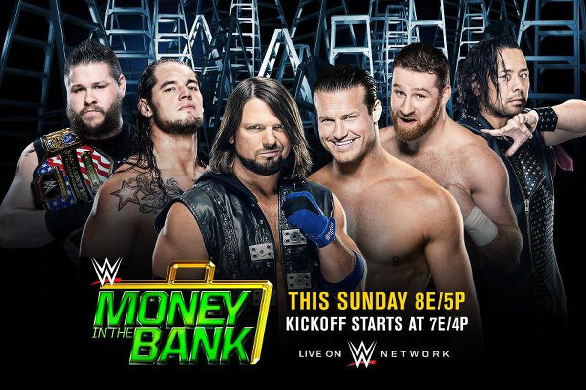 Money in the Bank 2017: Time, TV schedule for WWE pay-per ...