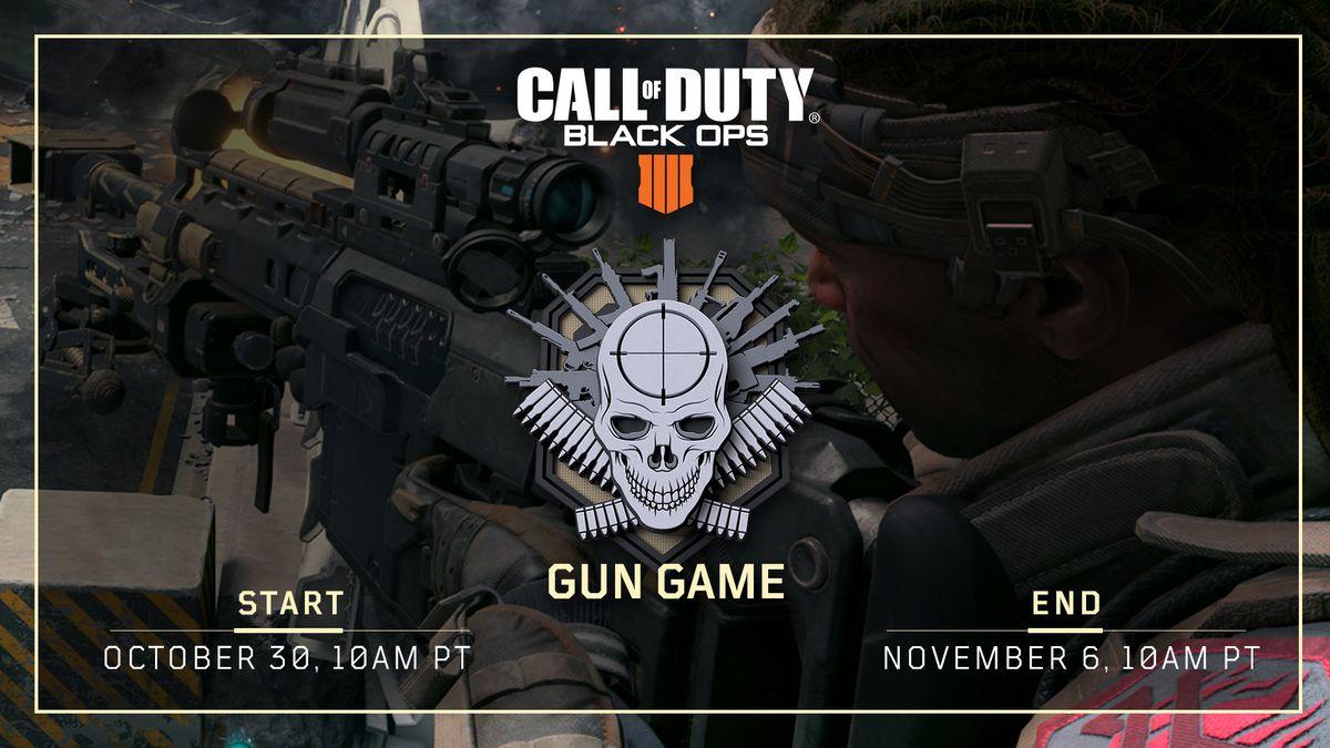 Gun Game announcement