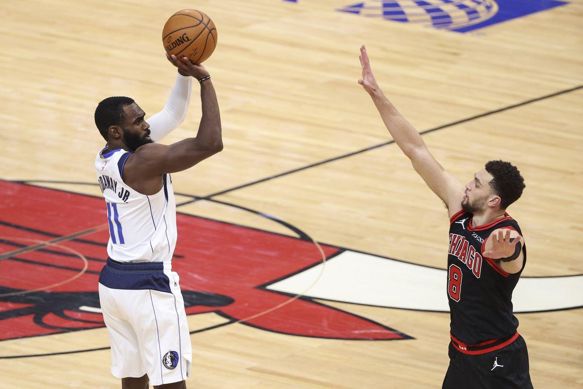 NBA: Dallas Mavericks at Chicago Bulls