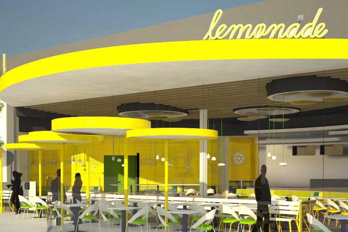 Lemonade UTC courtesy rendering