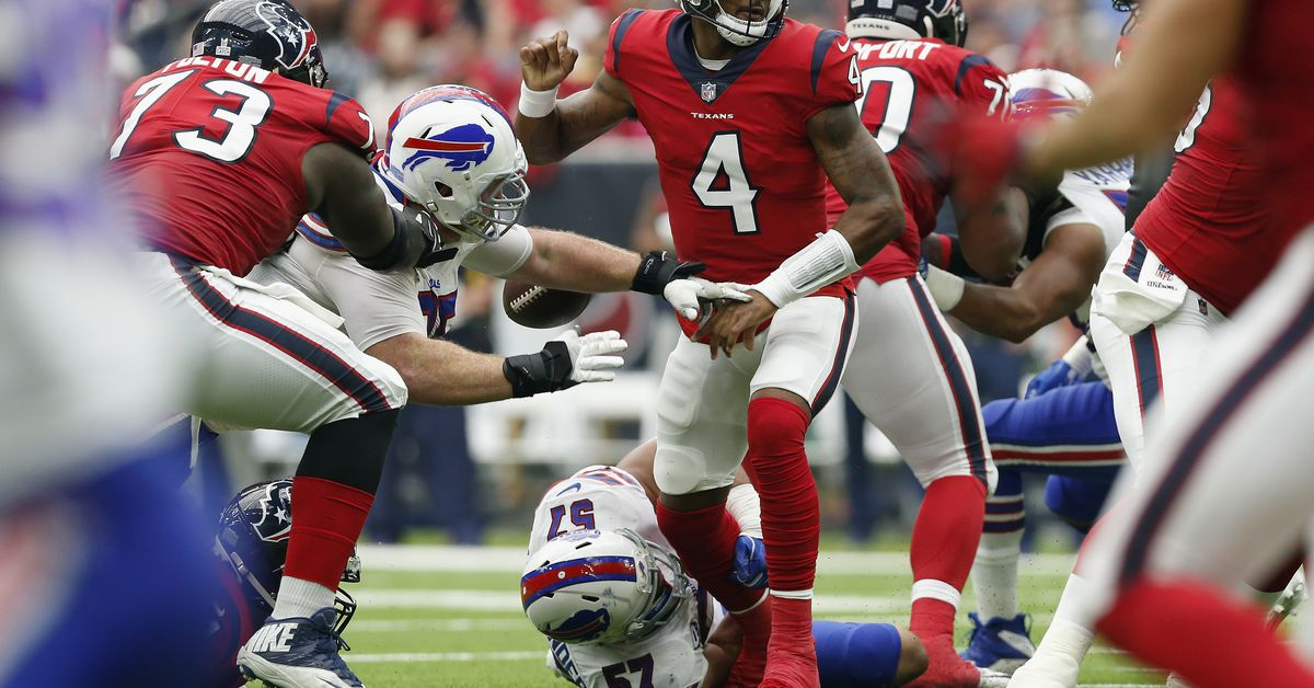 Analysis: Bills defense a bull in a china shop against Texans