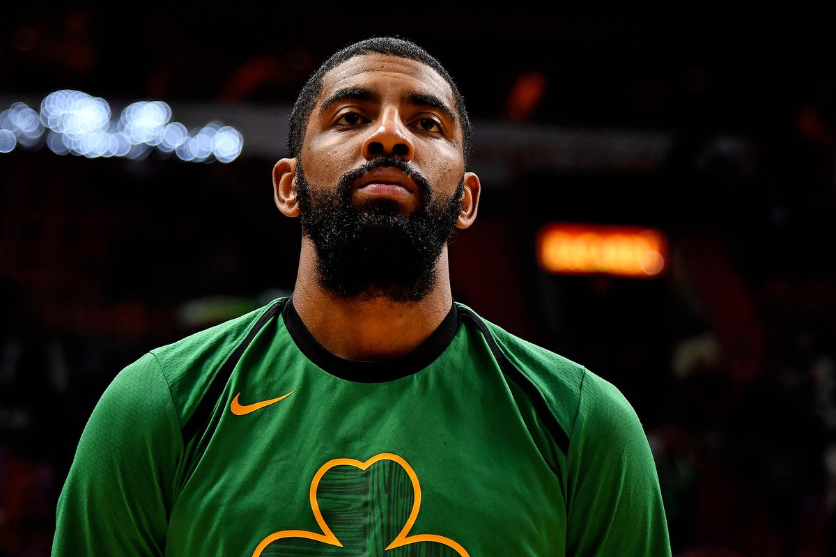Kyrie Irving gets shots up following Celtics loss to Miami ...Kyrie Irving