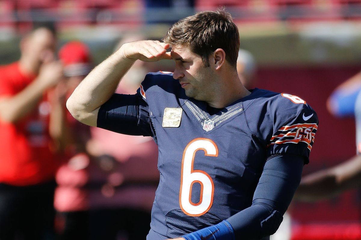 reputable site 48901 eb4c1 Jay Cutler released by the Bears. Now what? - SBNation.com