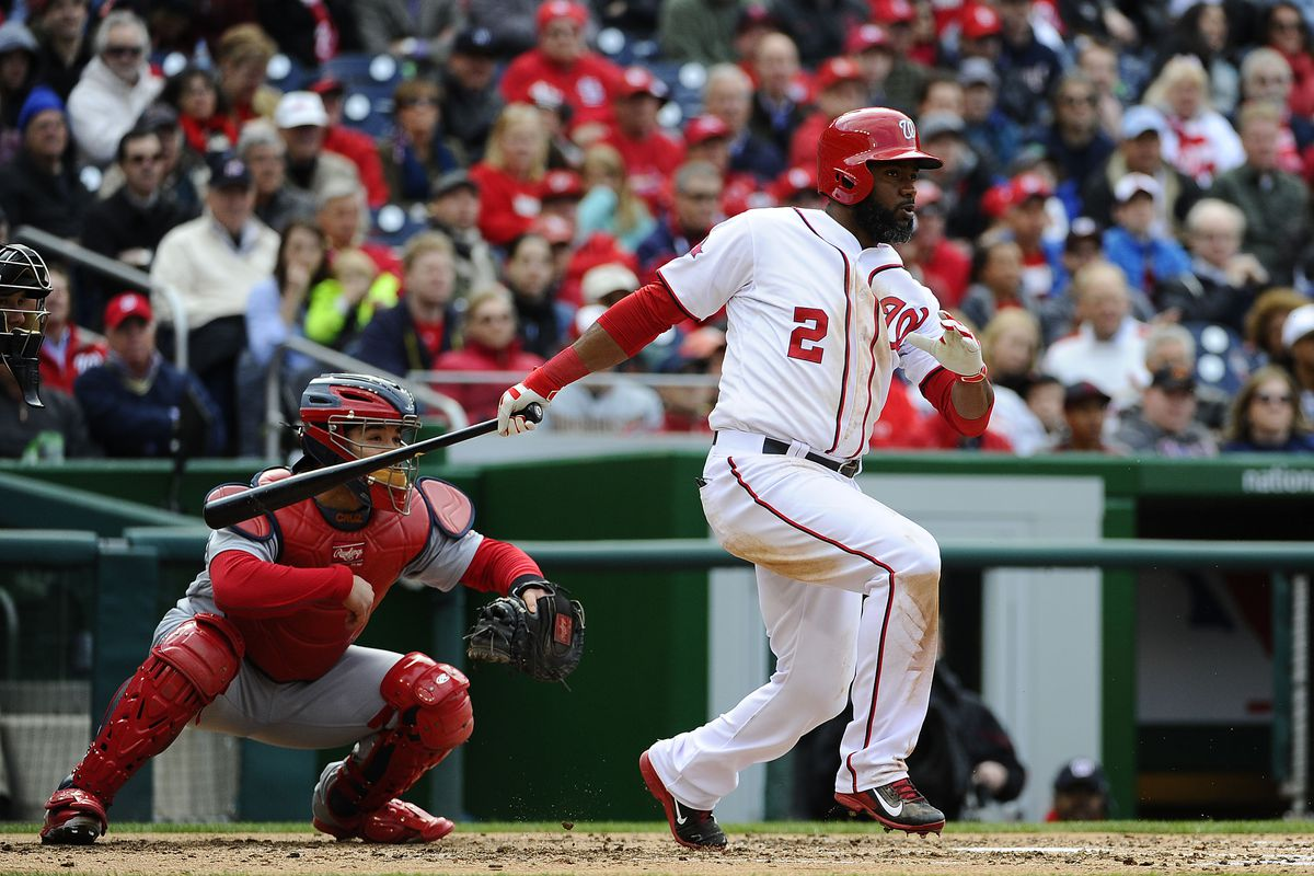 The Nats had their chances Thursday, but Denard Span's RBI single in the fifth was the only time the Nats came through in a big spot.