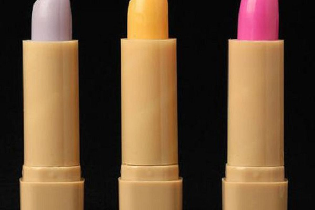 Lipstick that changes color based on your mood, from Urban Outfitters. Image via Stylecaster.