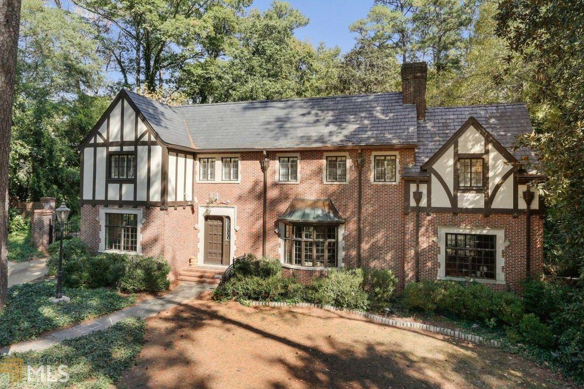 A tudor home for sale in Buckhead's exclusive