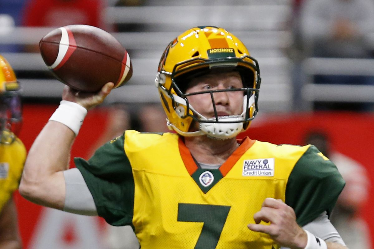 Report Vikings To Work Out Aaf Quarterback John Wolford Daily Norseman