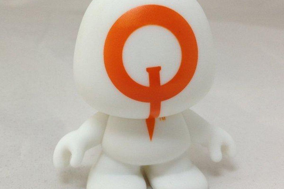 QuakeCon Symbiote figurine