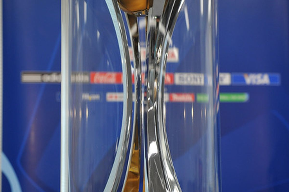 The trophy FC Barcelona will be playing for in Japan