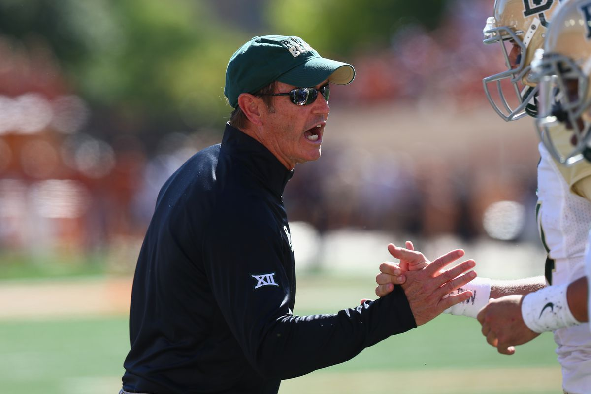 I WANT YOU TO COME PLAY FOOTBALL AT BAYLOR UNIVERSITY SON