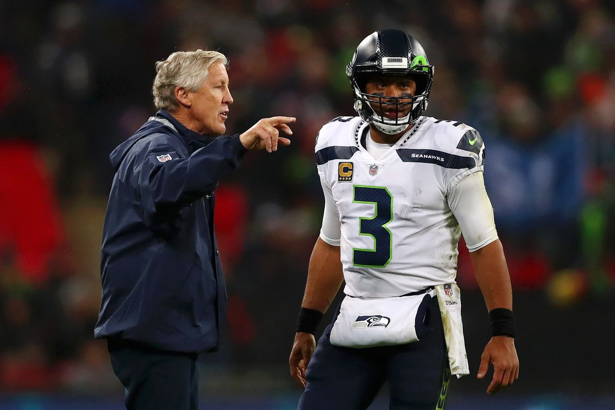 best loved 9343a 4dd4e Seattle Seahawks tape: Play-action and RPOs are helping ...
