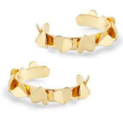 "<b>C Wonder</b> Hearts Aflutter Cuff, <a href=""http://www.cwonder.com/hearts-aflutter-cuff-bracelet.html"">$58</a> each"