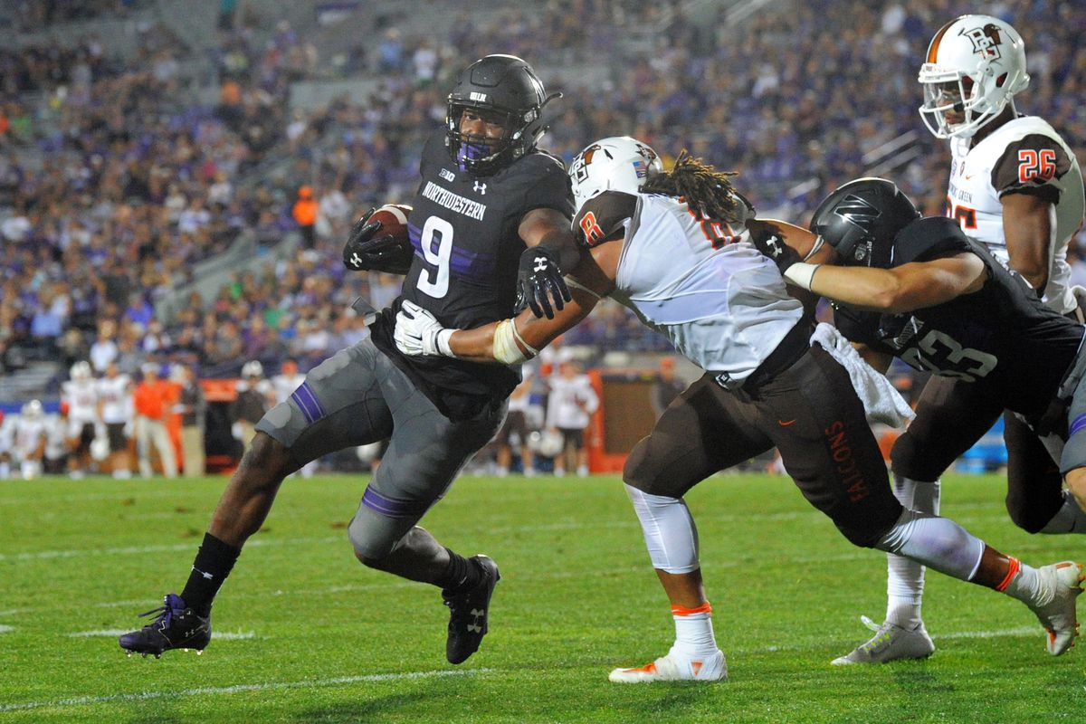 NCAA Football: Bowling Green at Northwestern