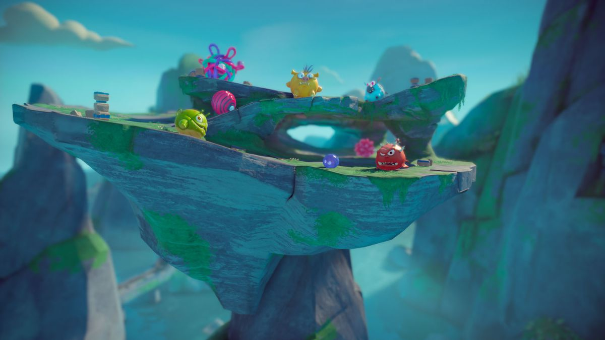 Deformers is a smash-em-up arena brawler from Ready At Dawn — and