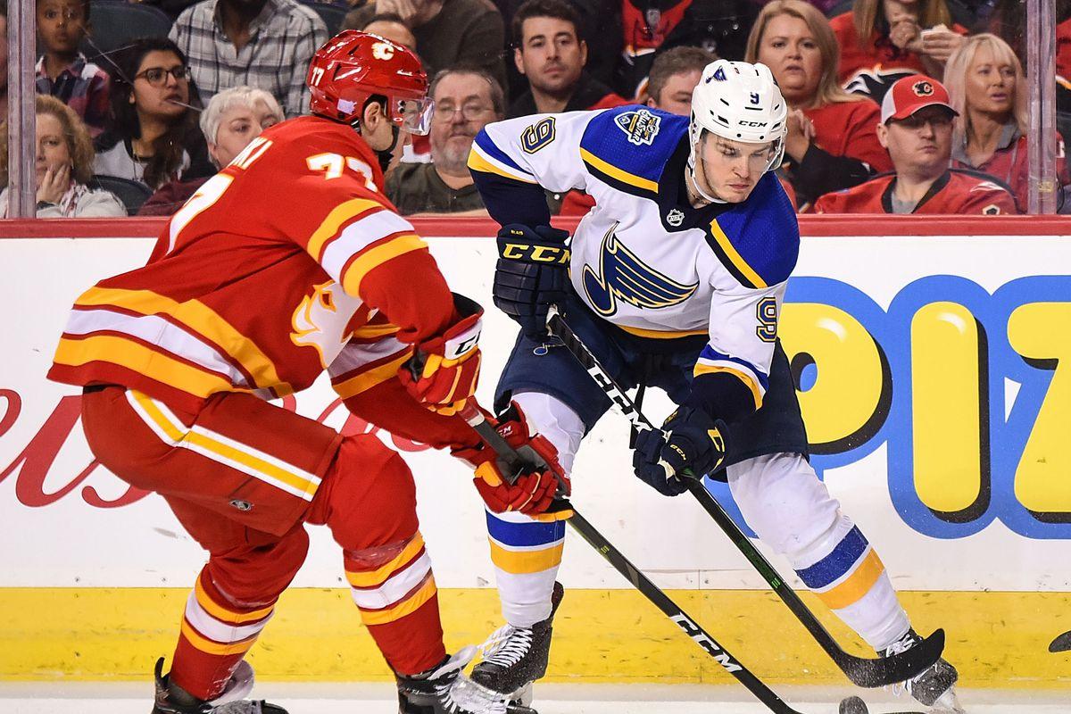 NHL: NOV 09 Blues at Flames