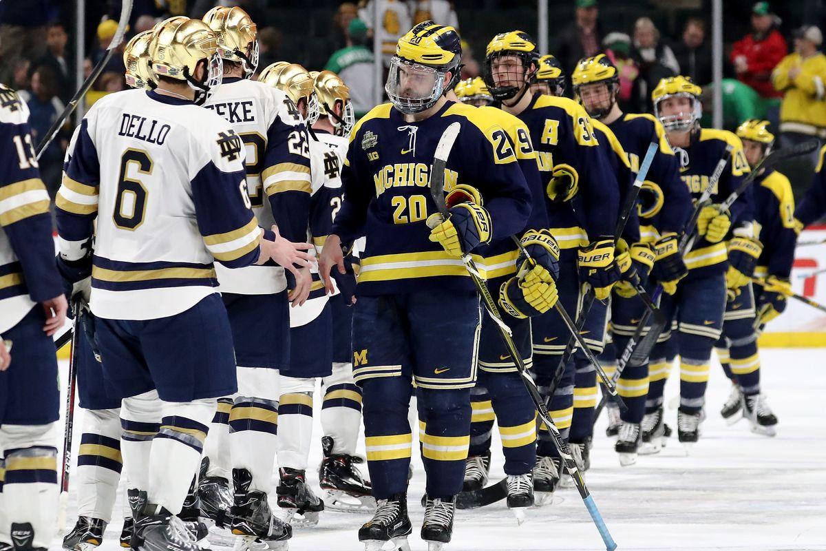 2018 NCAA Division I Men's Hockey Championships - Semifinals