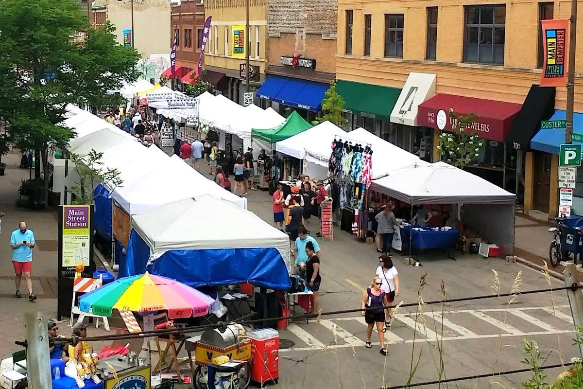 The organizers of Custer Fair say they are moving from Evanston to Indiana after a dispute with the city.