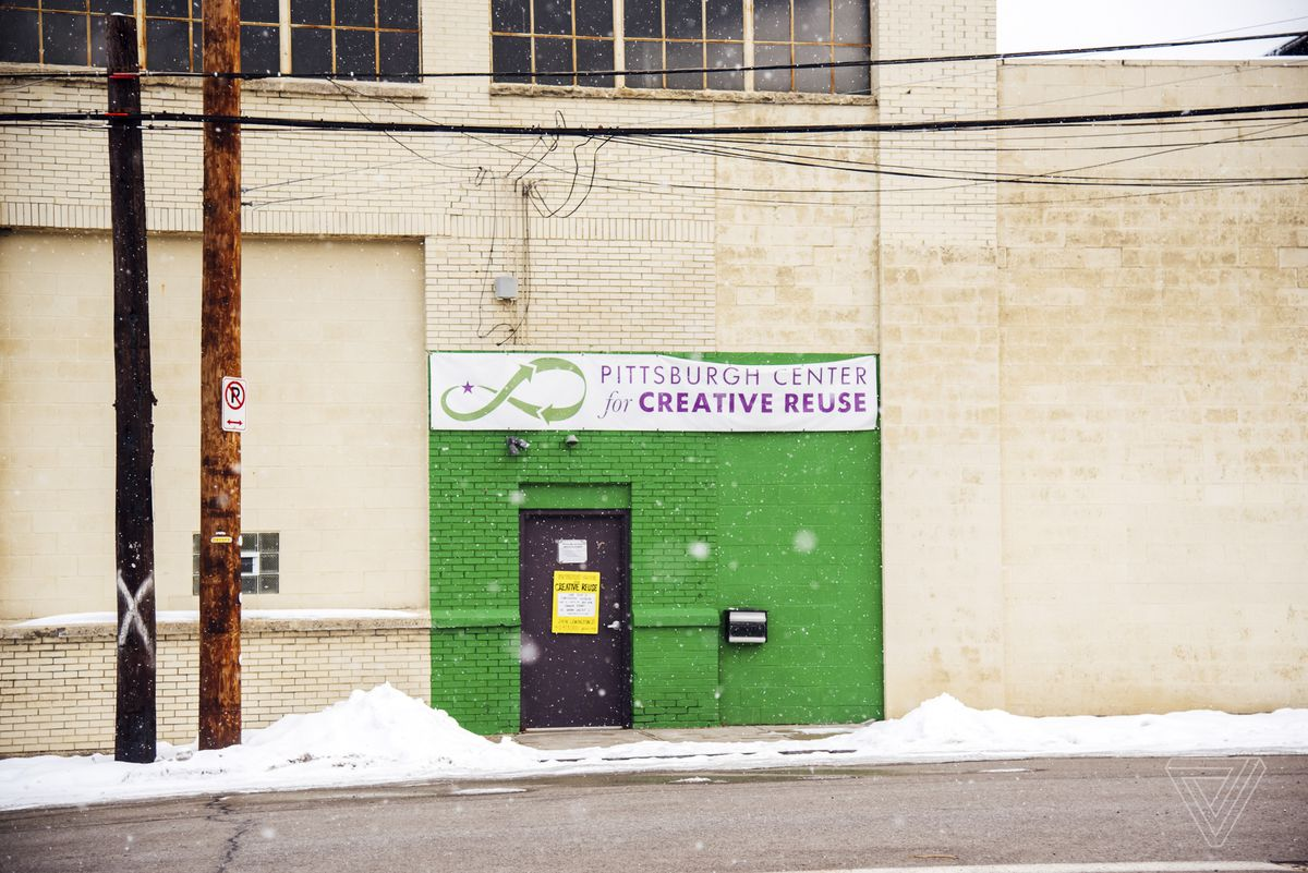 The Pittsburgh Center for Creative Reuse storefront
