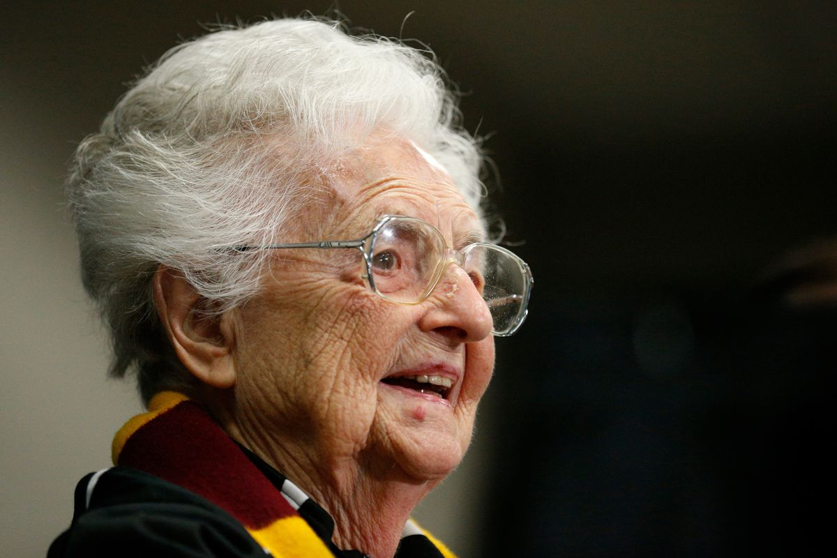 Loyola' mens' basketball chaplain Sister Jean Dolores Schmidt will appear on ESPN's College GameDay.