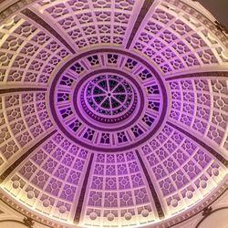 La Boulange du Dome's namesake dome at the Westfield, overhead