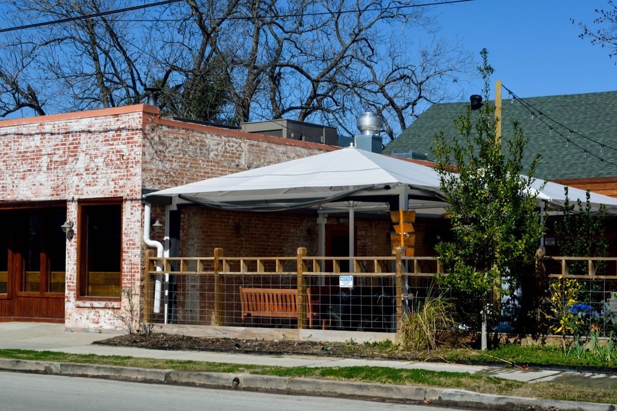 Coltivare's inviting covered patio is in hot water with the city.