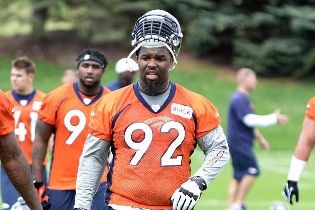 Broncos have wrapped-up their 2013 draft class today, with Sylvester Williams signing.