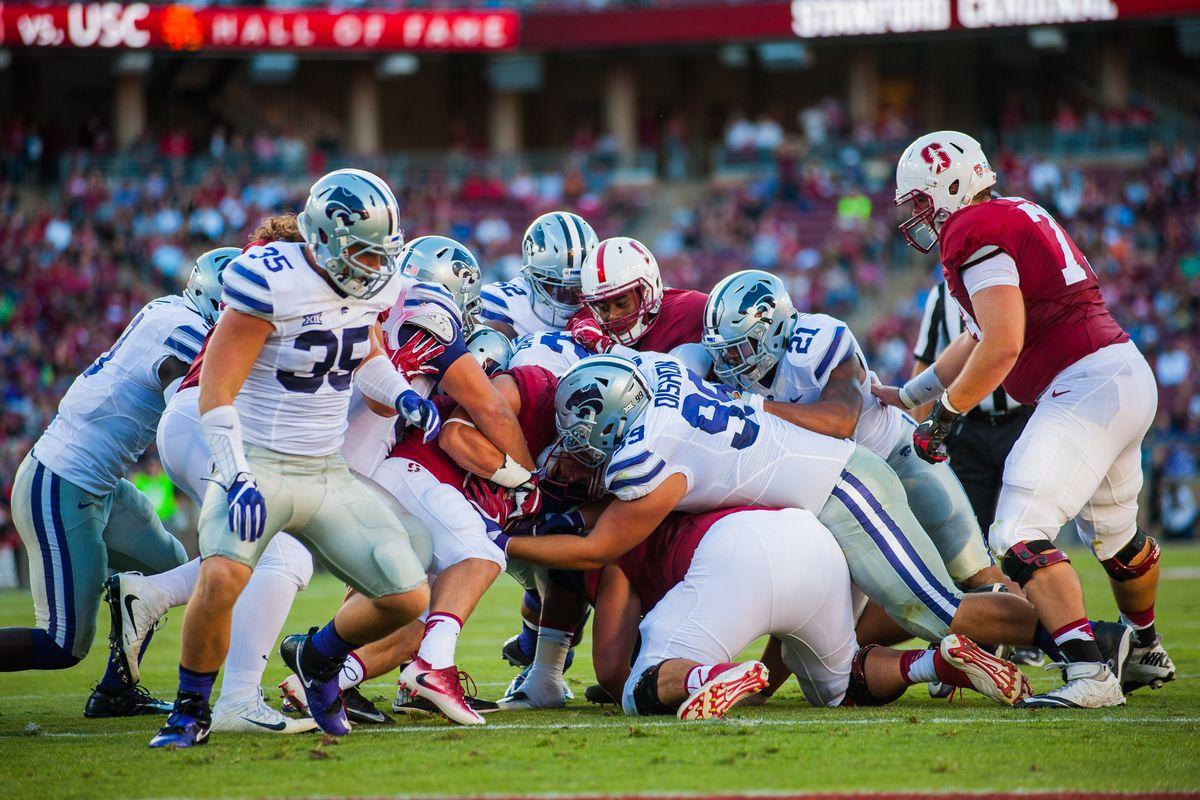 NCAA FOOTBALL: SEP 02 Kansas State at Stanford