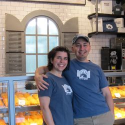 Randy and Lucy Hines, new owners of Kolache Shoppe.