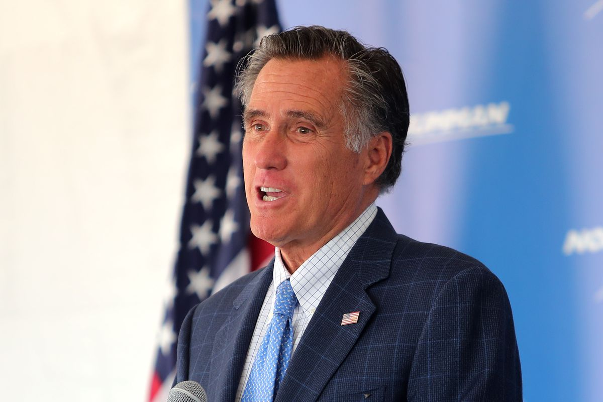 Only 1 in 5 Americans see Utah Sen. Mitt Romney favorably, poll shows