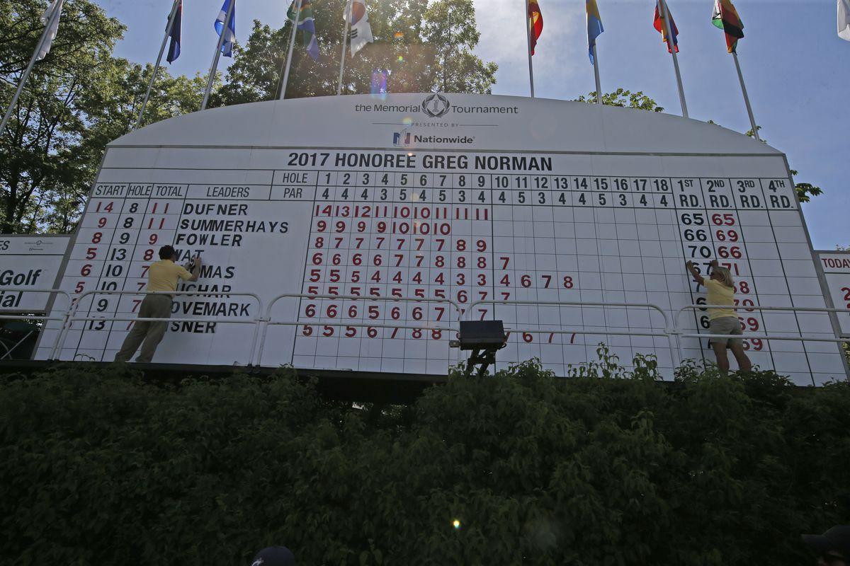GOLF: JUN 03 PGA - the Memorial Tournament - Third Round