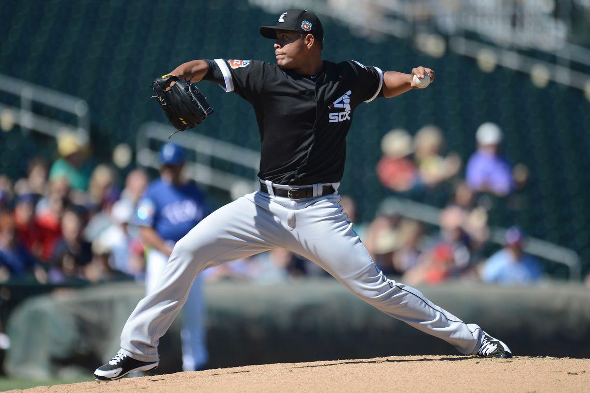 MLB: Spring Training-Chicago White Sox at Texas Rangers