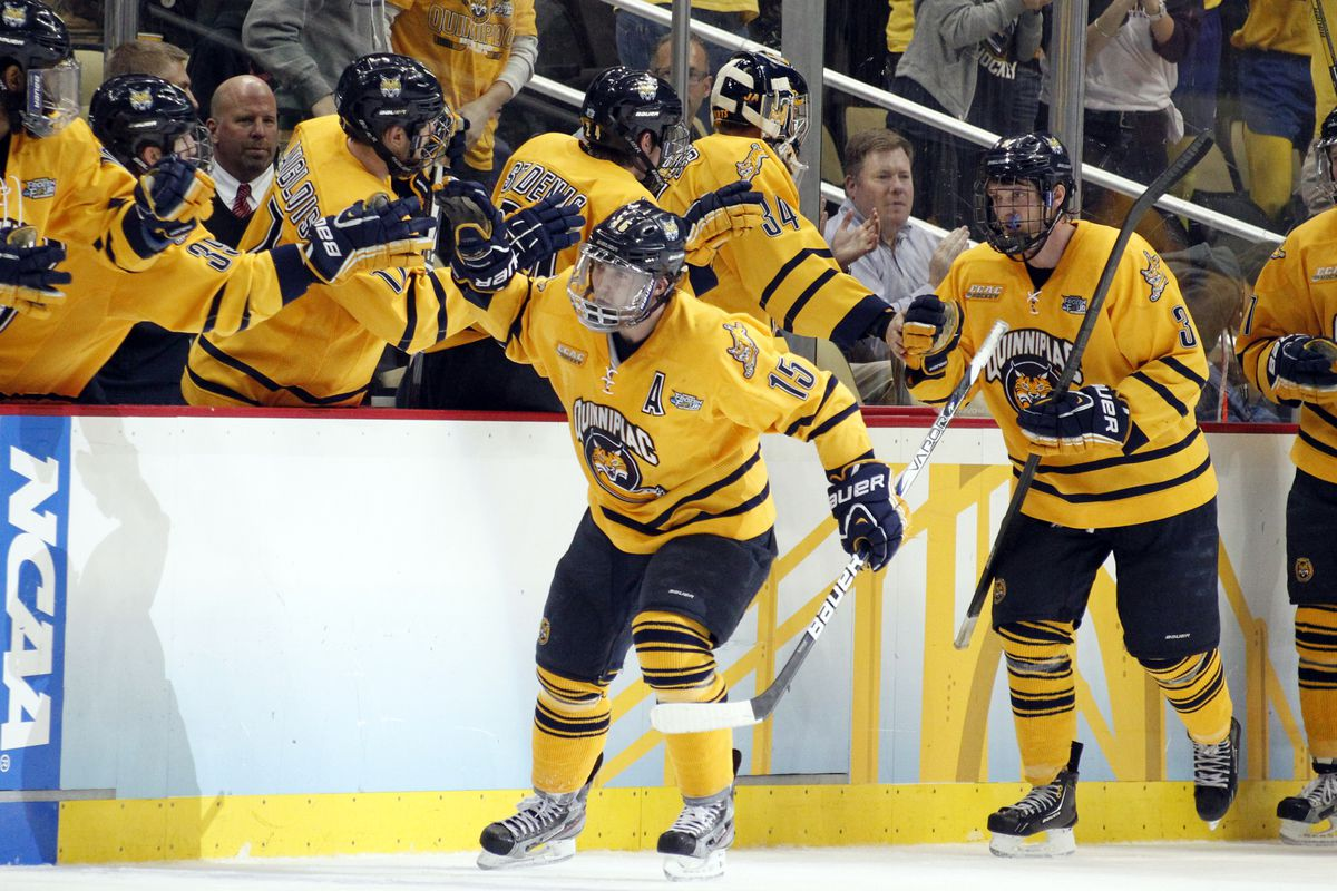 Quinnipiac is the only team perfect in ECAC play.