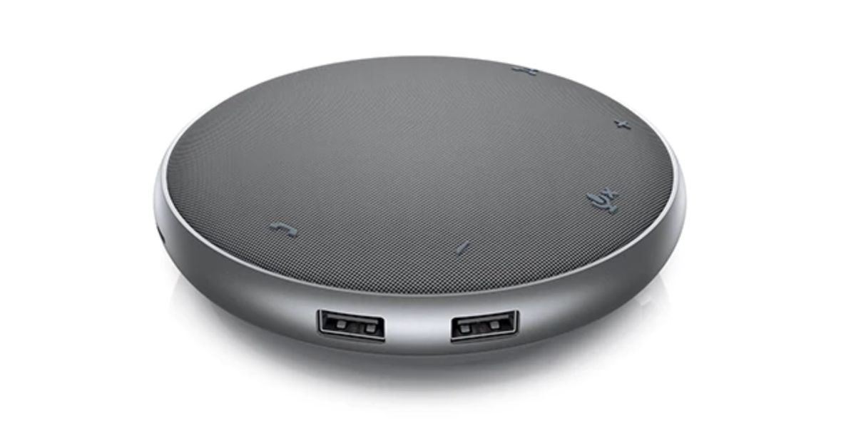 Dell's new USB-C hub is also a speakerphone for conference calls thumbnail