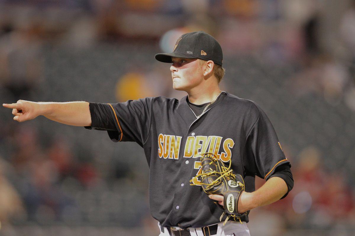 Sophomore pitcher Ryan Burr had a 2.20 ERA in 31 appearances last season.
