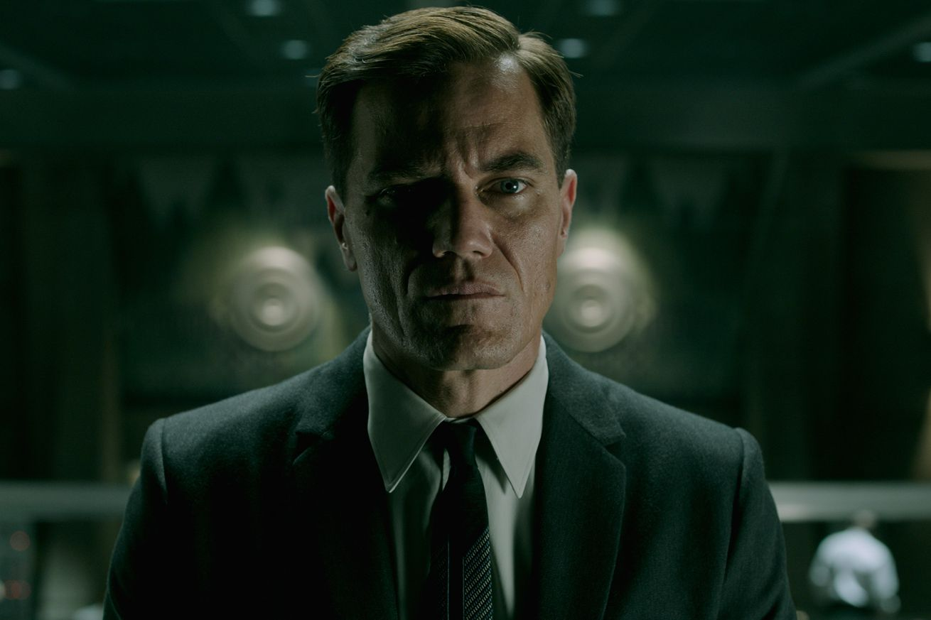 michael shannon explains how his name became a slang term on the shape of water shoot