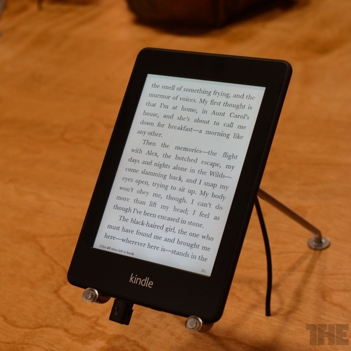 Even without audiobooks, the Kindle Paperwhite can still