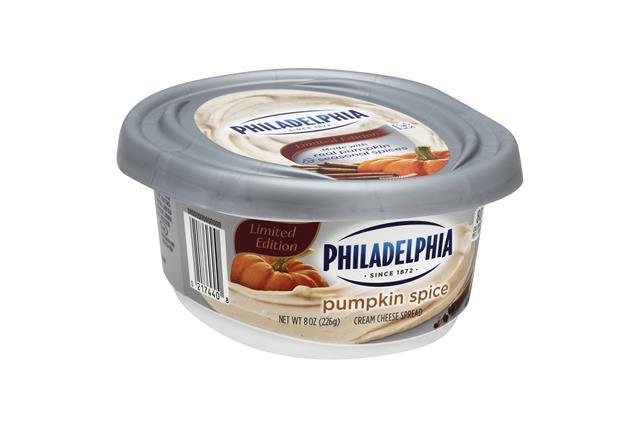 Kraft Pumpkin Spice cream cheese