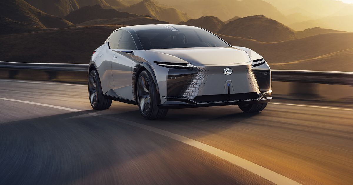 The LF-Z concept shows just how far Lexus has to go in EVs