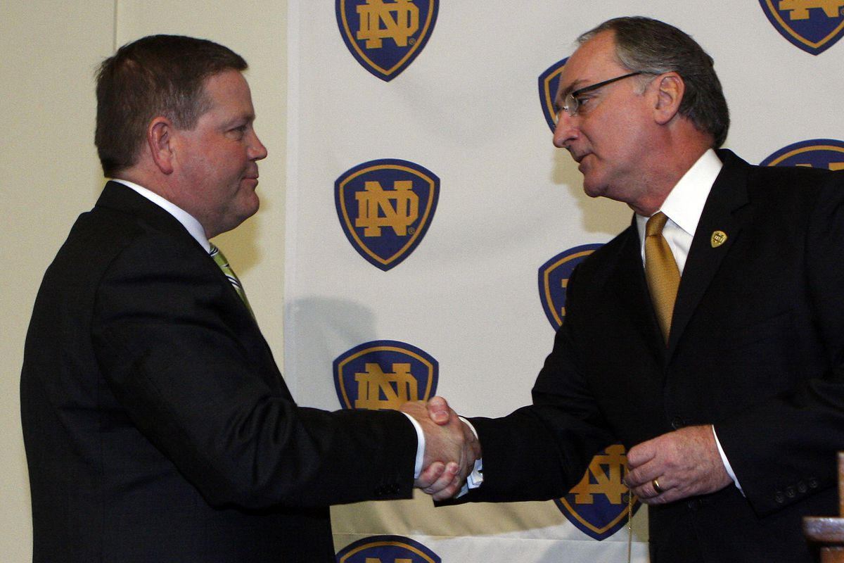 Notre Dame Introduces New Head Coach Brian Kelly