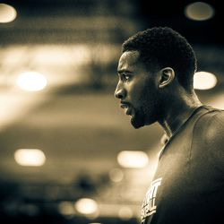 Andre Drummond returned for game three at the Orlando Summer League