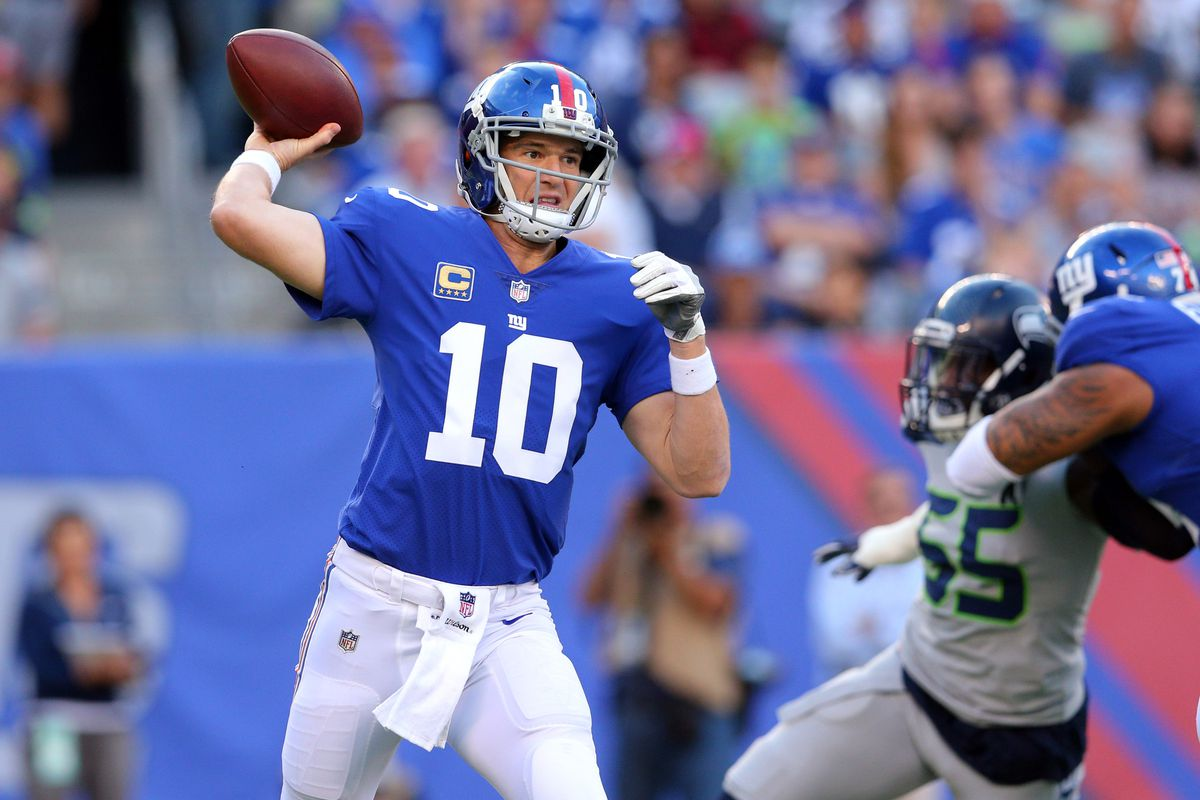 NFL: Seattle Seahawks at New York Giants