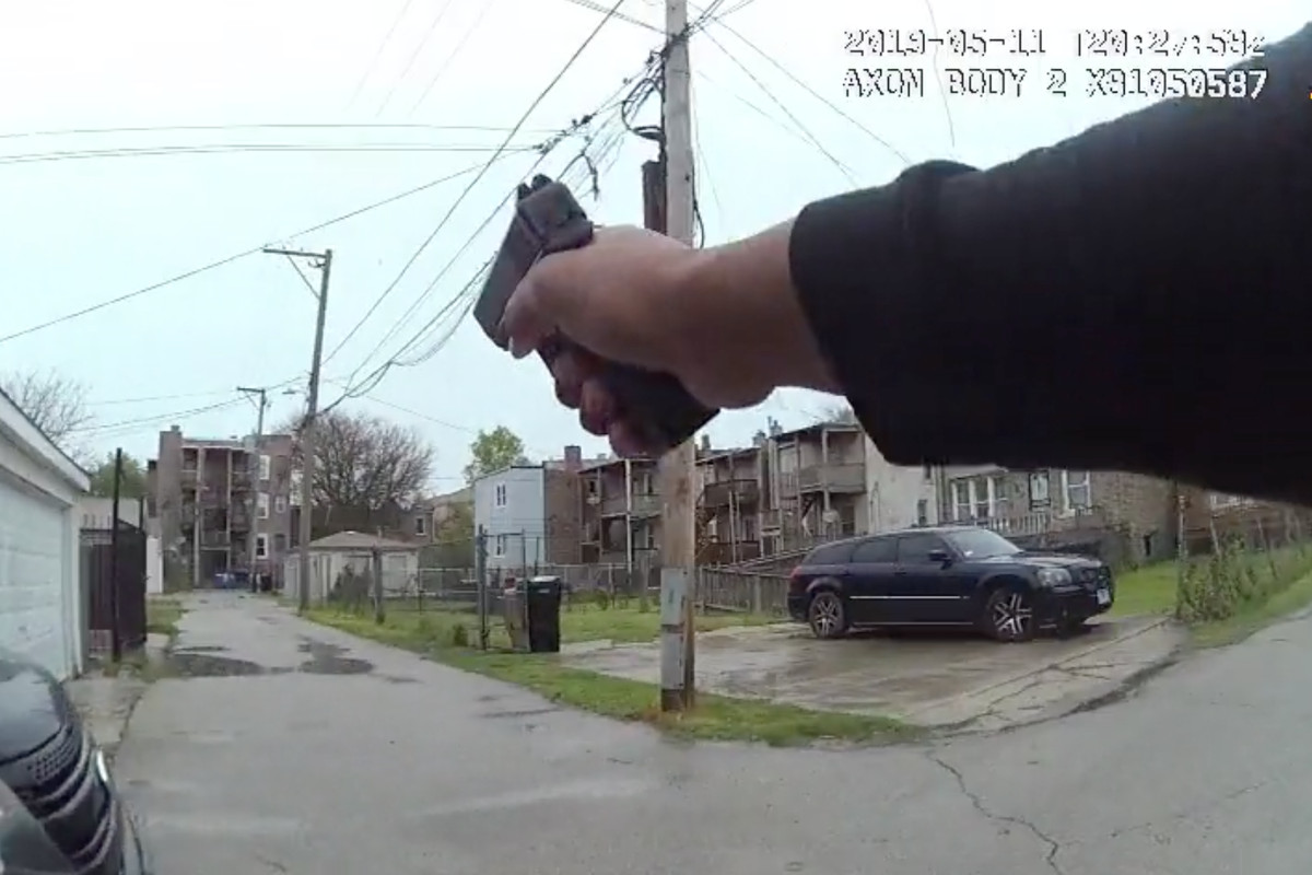 COPA releases video in killing of Sherrell Brown.