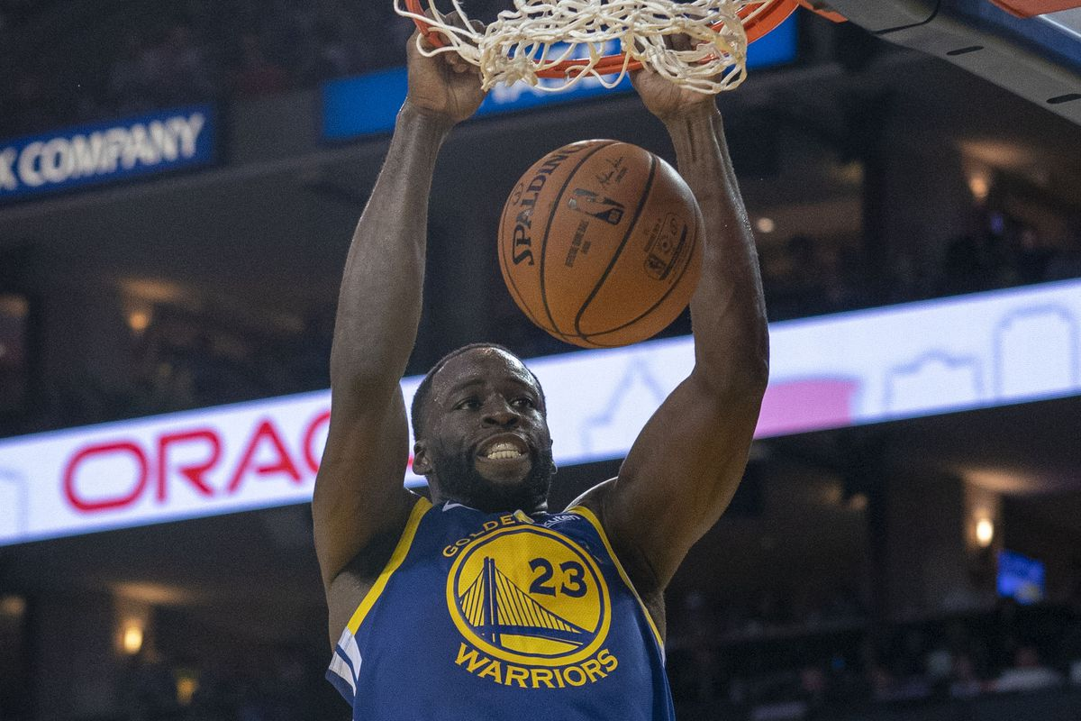 The Golden Breakdown  How Draymond Green gave the Warriors a much-needed  surge on offense 1bf2e417e