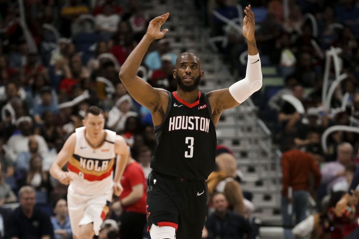 Rockets clinch playoff birth in blowout victory over the Pelicans