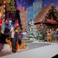 """A scene from the <b>Lord & Taylor</b> <a href=""""http://ny.racked.com/archives/2012/11/16/check_out_lord_taylors_75th_anniversary_holiday_windows.php"""">75th anniversary holiday windows</a> that celebrated Christmas traditions around the world."""